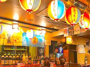 \カラフルな色映え・提灯が目印/ 北海道にいながらも、沖縄大好き…★ そんな人も多いのでは!! バイト経験・一切不問です♪