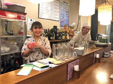 スタッフ同士で飲みに行くこともある、超仲のいいお店♪ 一緒に頑張ってくれる方は、履歴書なしで面接へ~(*´▽`*)☆