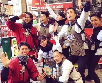 【観光人力車の引き手】日本各地、世界中のお客様を笑顔に♪賞金&手当でガッツリ稼げる!昼食代付☆おもてなしの心が学べます!