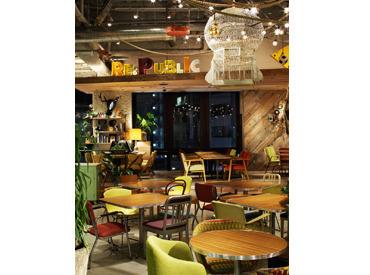 【カフェSTAFF】「渋谷にいること忘れてた!」そんな感覚になるほど、居心地バツグン★天井が高くて開放感ある、落ち着きカフェです◎