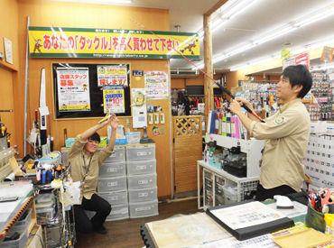 この写真を見て分かる通り(笑)、 既存店では楽しいスタッフが活躍中♪ 新店舗も楽しくなること間違いナシ!