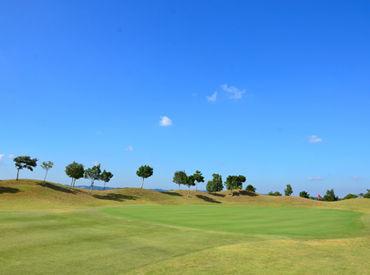 ゴルフ場をより良い環境に♪ コース内のお手入れをお任せします!