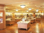 オルゴールミュージアム1Fの売店にて販売や接客をお願いします◎
