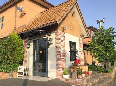 【カフェStaff】オシャレに楽しく働きたい方に!!昨年10月OPEN★可愛い外観が目印のお店**スタッフ割引&テイクアウトもできます!