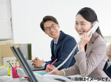 \幅広い年代のスタッフが活躍中/ 働きながらスキルが身に付くことも多数♪