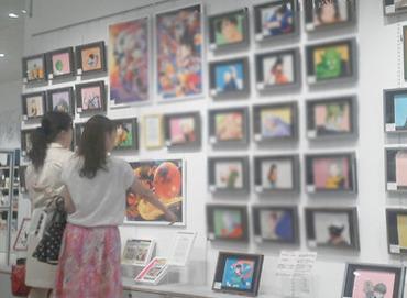 【グラフィックアートSHOP】\オープニングSTAFF 追加大募集!/人気のアニメセル画やオリジナルグッズ、ポスターなどを扱うレアなお店!