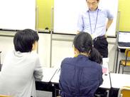 \自由な働き方/自分のペースでお仕事できるのもPOINT!『将来は教員になりたい!』そんな方はしっかりと学べる環境です。