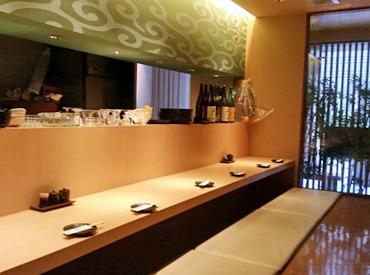 【ホール/キッチン】\ 嬉しいPOINTがいっぱい!! /美味しいまかないを食べちゃえ!!ヾ(@~▽~@)ノオトナな雰囲気◎オシャレな創作和食ダイニング♪