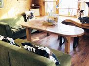 清々しくてのどかな風景――…。牧場内にある素敵なカフェでお仕事しませんか?