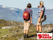 1960年にスウェーデンの田舎で誕生したフェールラーベン。  この普遍的なデザインが、 世代を問わず大人気のアウトドア製品に♪