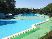 ――*◆夏限定のプールでのお仕事◆*―― 週1/2h~でOK!あなたの都合に合わせて働けます◎