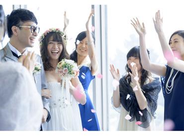 【ブライダル演出staff】+* 結婚式演出のお仕事 *+感動シーンはこのBGMと照明で…と操作♪◆平日はほぼ残業なし!◆有給休暇の取得OK♪