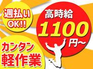 カンタン★小型部品の仕分け・梱包作業! バイトデビューの方も久々復職の方も気軽に応募OK!