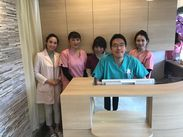 12月オープンのキレイなクリニックです☆患者様とスタッフそれぞれが気持ちよく過ごせる医院を一緒に作りましょう♪