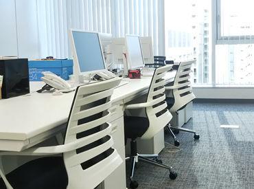 20~30代女性スタッフが多数活躍中♪♪ きれいなビル内の新しいオフィスで働きませんか?