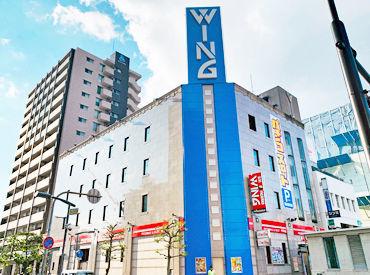 ☆福山駅から徒歩3分☆ スタッフ仲がよくて働きやすいお店♪ バイトデビューの方も大歓迎.+*