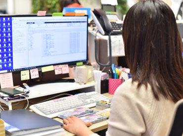 <<未経験大歓迎>>データ入力や電話・メール対応などのシンプルなお仕事です! アットホームで働きやすい職場ですよ♪