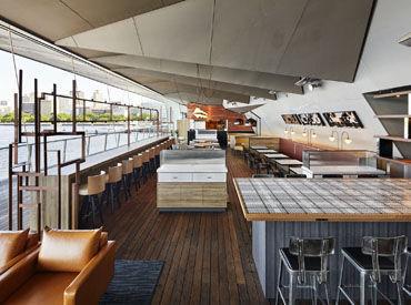 ◆ブルーターミナルの店内◆ コーヒースタンドも併設していて とにかくオシャレな空間♪*゜ 結婚式の2次会でも使われます!