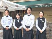 オープンテラスもあり雰囲気バツグン!横浜駅直結で通いやすさも◎「落ち着いたカフェで働いてみたい」という方にオススメです♪