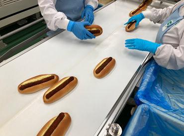パン作り経験は一切不要! 先輩スタッフが新人さんをしっかりサポート♪ みんなで助け合える雰囲気の良い職場!