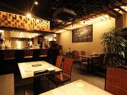 店内は全席禁煙★おしゃれな空間と本格派の料理が自慢!個人店ならではのアットホームな雰囲気です♪