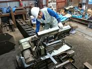 コンクリート製造の為の「鋼製型枠作業」や「改造作業」をお任せいたします!!稼ぎたい経験者の方も歓迎◎