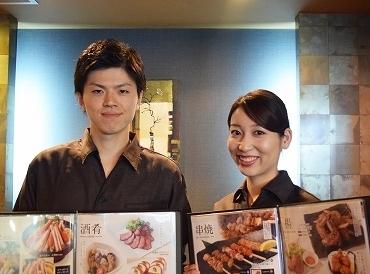 【店舗Staff】\駅からすぐ!和食居酒屋/「いらっしゃいませー!」アナタの笑顔でおもてなし♪≪週2日~≫シフトはお気軽に相談OKです☆゛