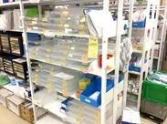 """未経験OK!病院内での勤務だから、落ち着いた環境で働けます◎扱う商品はすべて""""使用前""""なので、ご安心ください♪"""
