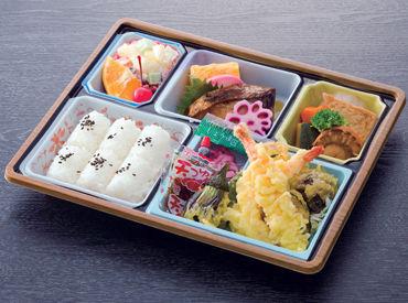 本当に簡単!! 盛り付けのみです♪ 仕込みや調理は一切なし◎ 美味しいお弁当が100円で食べられます◎