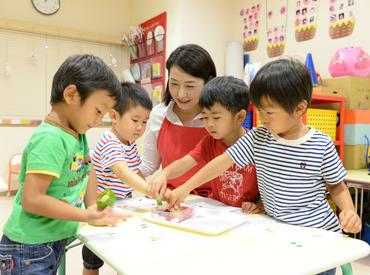 子どもの成長と笑顔がやりがい(*^^*) 週1日4h~で働けるから主婦(夫)も安心☆ ※業務委託のため、上記は目安となります。