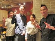 10~30代男女staff活躍中!! staff同士でもサプライズし合うなど とっても仲良しなんですヾ(*・ω・)ノ