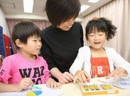 子どもが好き!という方にオススメ★ スタッフ間の風通しがよく、働きやすい職場です♪