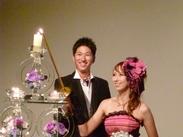 人生の晴れ舞台である≪結婚式≫のお手伝いをしてみませんか?たくさんの笑顔と触れ合える、ステキなお仕事♪