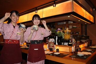 【店舗staff】手作り豆腐が人気のこだわり和風居酒屋★常連さんが多め&スタッフ同士は仲良しで環境◎未経験でも安心《絶品まかないアリ》