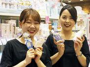 ★上野駅直結★面接に来て下さった方全員に、コスメサンプルをプレゼント♪気になった方は応募ボタンをクリック☆彡