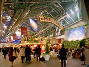 *゜◆世界最大級のクリスマスマーケットを、六本木ヒルズ内で再現◆゜+ クリスマスムードに浸りながら、楽しく働けますよ♪