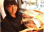 """―◆ 北陸を中心に新鮮な 【天然地魚】を毎日入荷 ◆― """"魚好きなら一度は訪れてみたい""""と 評判のお店で働いてみませんか?"""