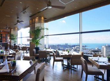 最上階に位置する、開放感あふれるDining♪神戸市内の景色を一望☆プロポーズや女子会、ママ友会など様々なシーン活用されます。