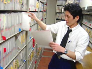 【書類の管理】レアバイト!有名病院でお仕事.*専門知識不要のシンプルワーク◎資料管理・搬送・書庫整理など♪★安定収入★男性活躍中!