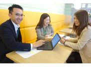 資格を活かせる、伸ばせるお仕事です♪ PCスキルや、英語のスキル…身に着けたい、学びたい方大歓迎!!