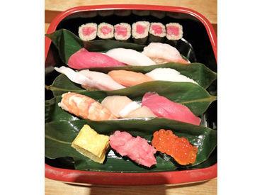 ↑ある日のまかないがコチラ↑ 数千円相当の豪華な内容★ 自分で作って食べるのも可◎ 日々の出勤が楽しみに…♪