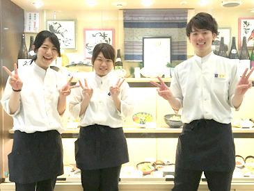 小田急百貨店内のごはん処♪ つまり…町田駅直結! 雨の日も濡れないし、日焼けもしない♪♪