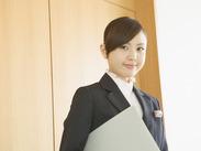 接客にチャレンジしてみたい!ホテル業界で働きたい!皆さんの『初めて』を応援します♪サポート体制もバッチリ★