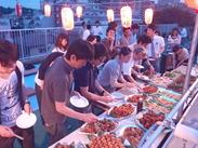"""""""日本一明るく楽しい職場""""がモットーの会社です!スタッフ同士もいつも和やかな雰囲気♪職員でのイベントもあります◎"""