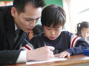 「教える」ことに慣れていない方も大丈夫◎授業は専用のテキストに沿って、ゆっくりと進めていきます!