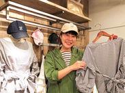 「これ可愛い!」そんなアイテムは社割でお得にGet☆新しい服で新しい自分、探しませんか?♪
