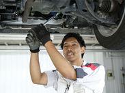 <無資格・未経験OK>まずはタイヤ交換など簡単な整備からスタートできます◎本格的に整備士を目指したい方も応援します!!
