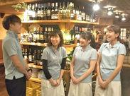 女性のお客様が多い、落ち着いた雰囲気のお店。カジュアルな制服でみんなの一体感も◎個性を活かして楽しく働きに来ませんか?