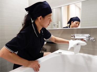 【ホテル客室清掃】★6/9 新規開業★オープニング追加募集!「和」で統一されたお部屋を客室清掃で快適な空間に♪家事の延長で働けます◎