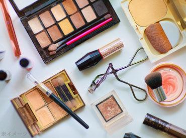 【美容部員】美容部員経験なしでもOK!美容コスメ業界にチャレンジしたい方、チャンスです♪★未経験歓迎のオシゴト★